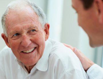 Anziano con ipertrofia prostatica benigna